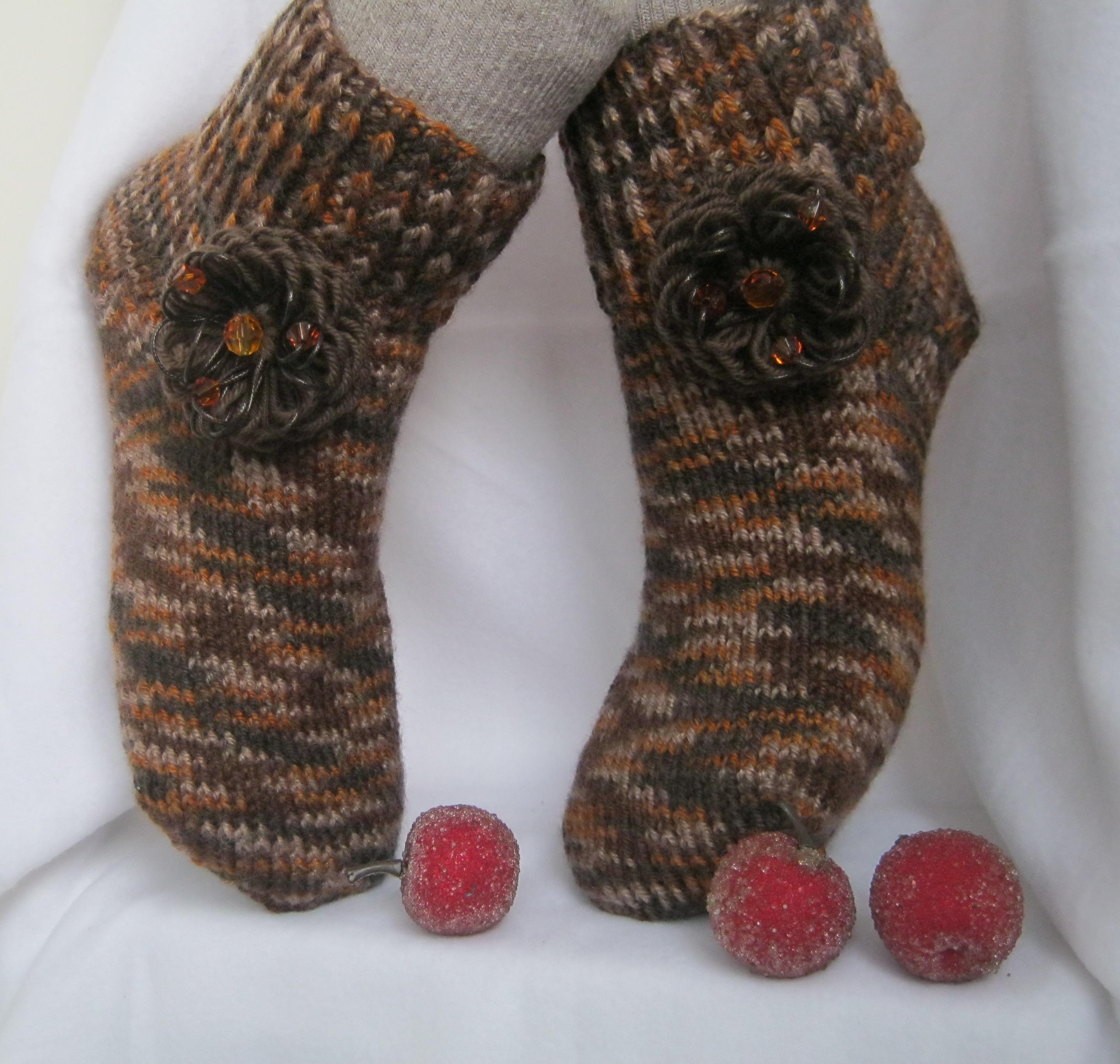 Вязать носки в подарок