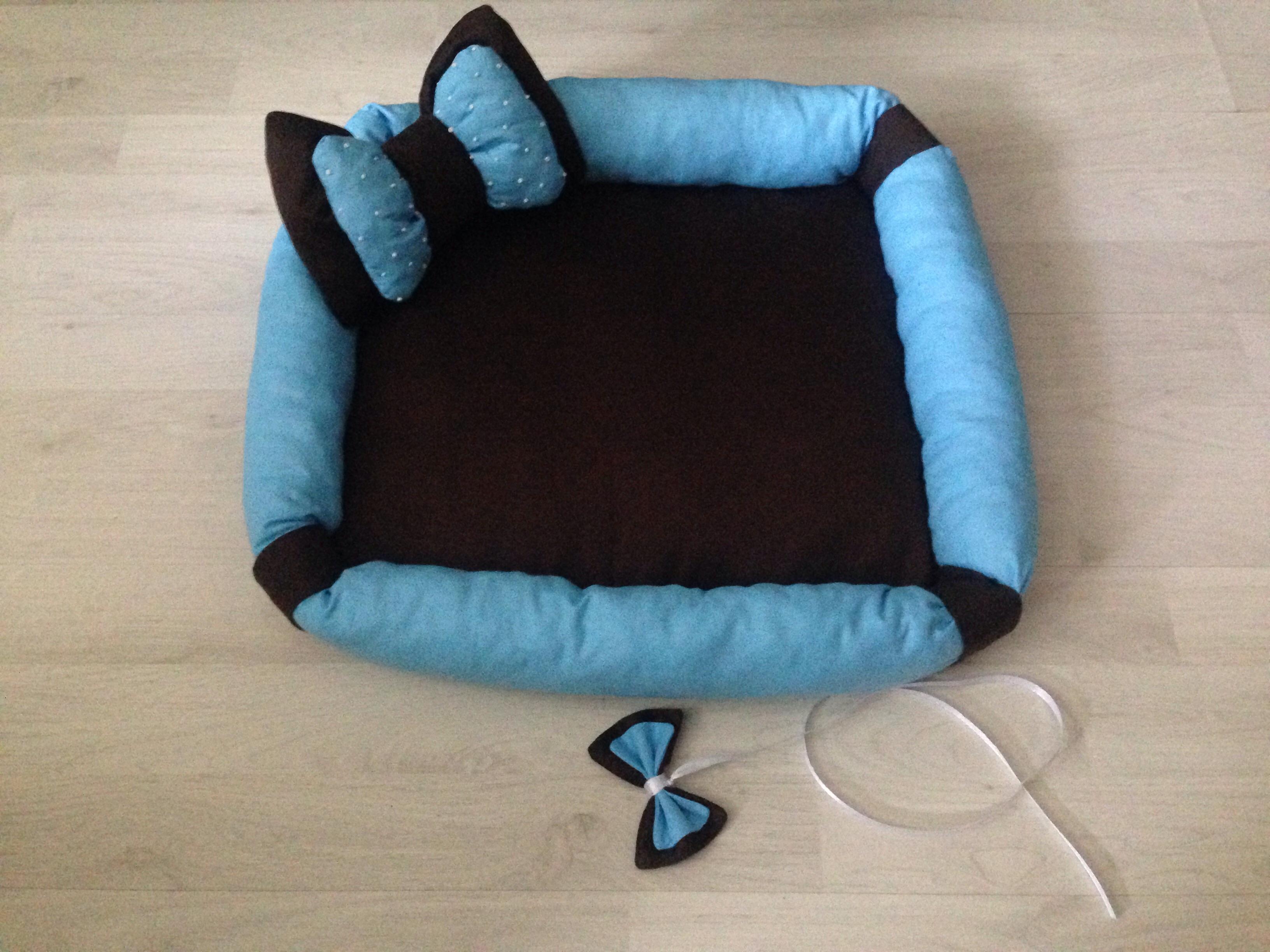Как сшить для кошки спальное место 5