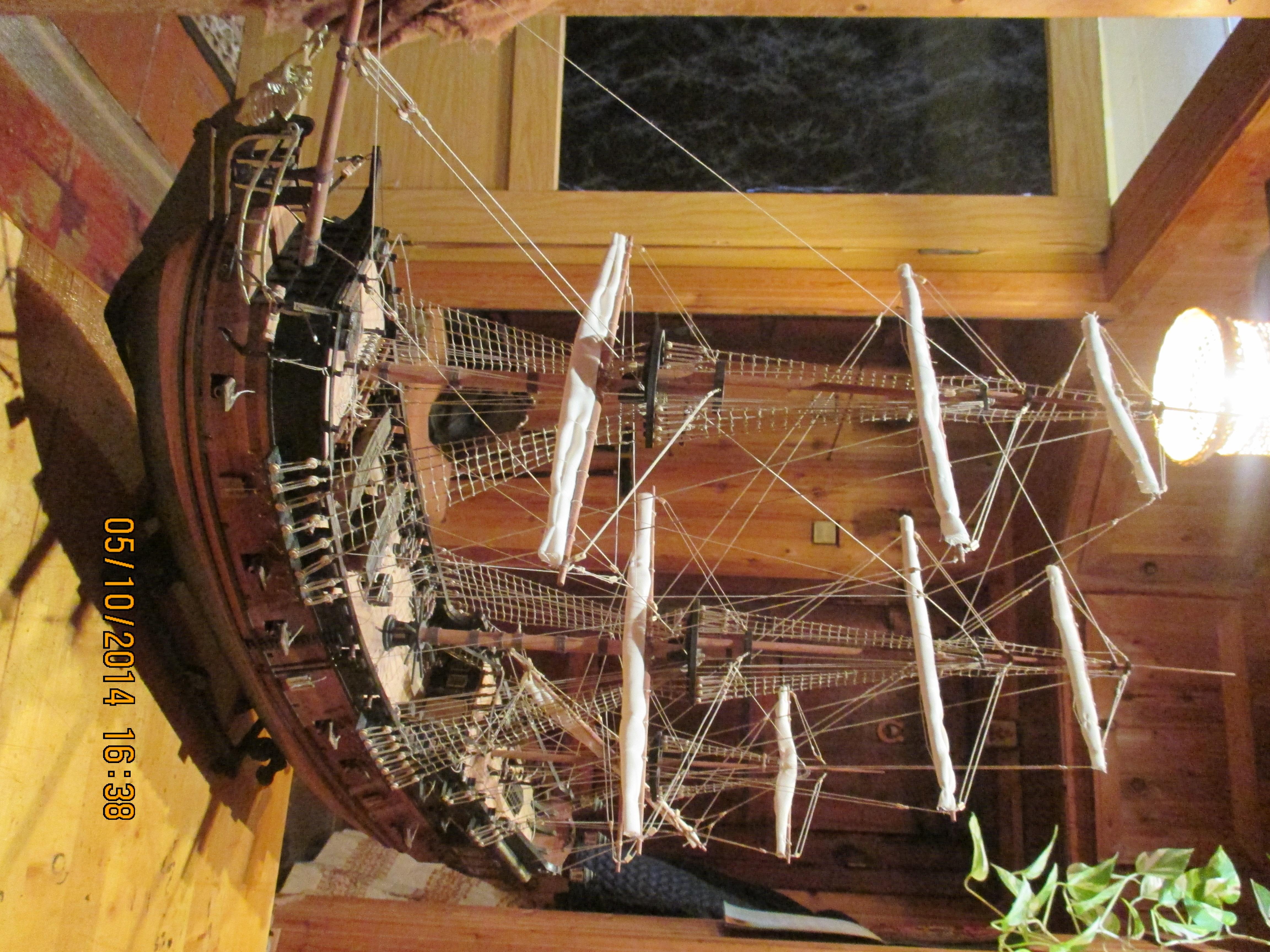 Корабль из дерева своими руками черная жемчужина 3