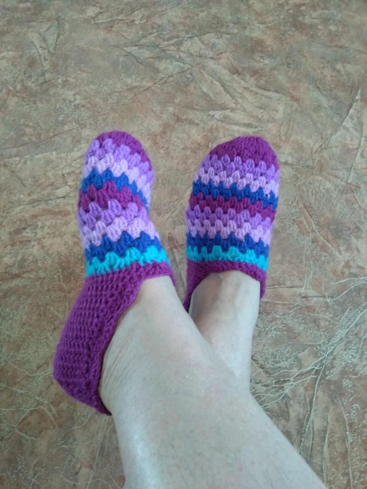 купить вязанные носки ручной работы