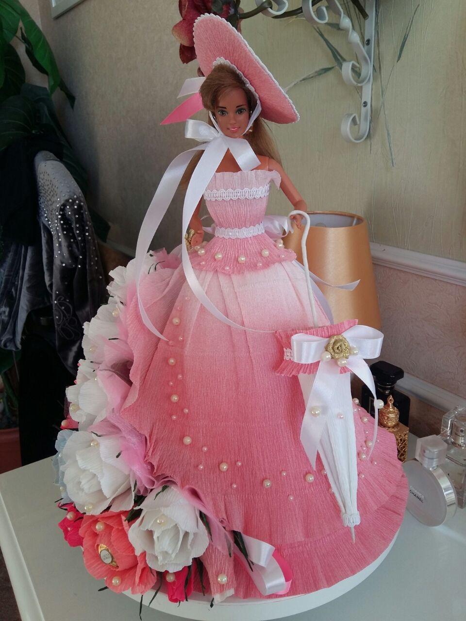 Как сделать букет для кукол